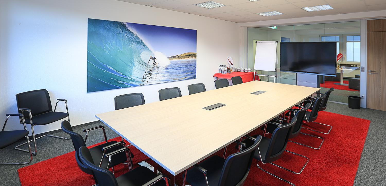 XXL-Druck für das Canon Business Center in Hamburg