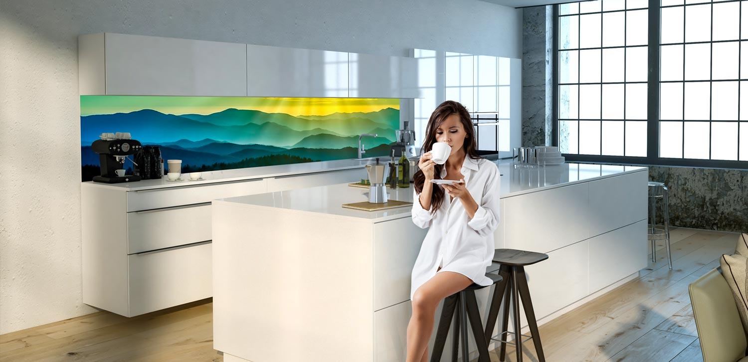 Küchenrückwände aus Glas - wall2art.de geht online