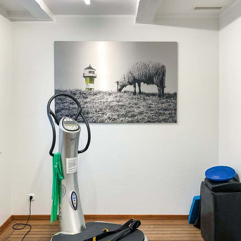 Wandbilder für Fitness-Studio 1