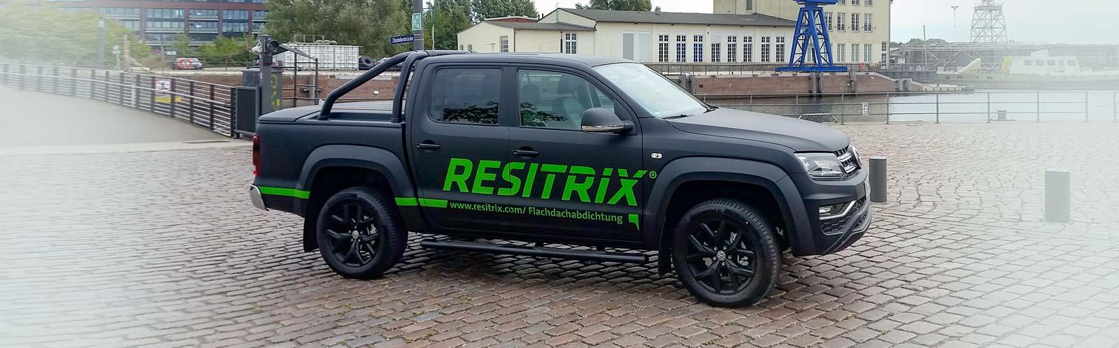 Autobeschriftung Pickup Resitrix