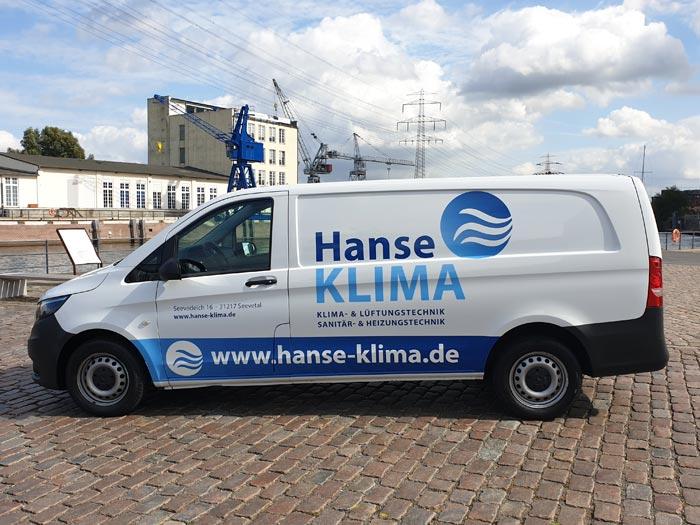 Fahrzeugbechriftung Transporter von print-o-tec