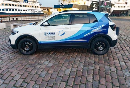 Fahrzeugbeschriftung VW T-Cross 1