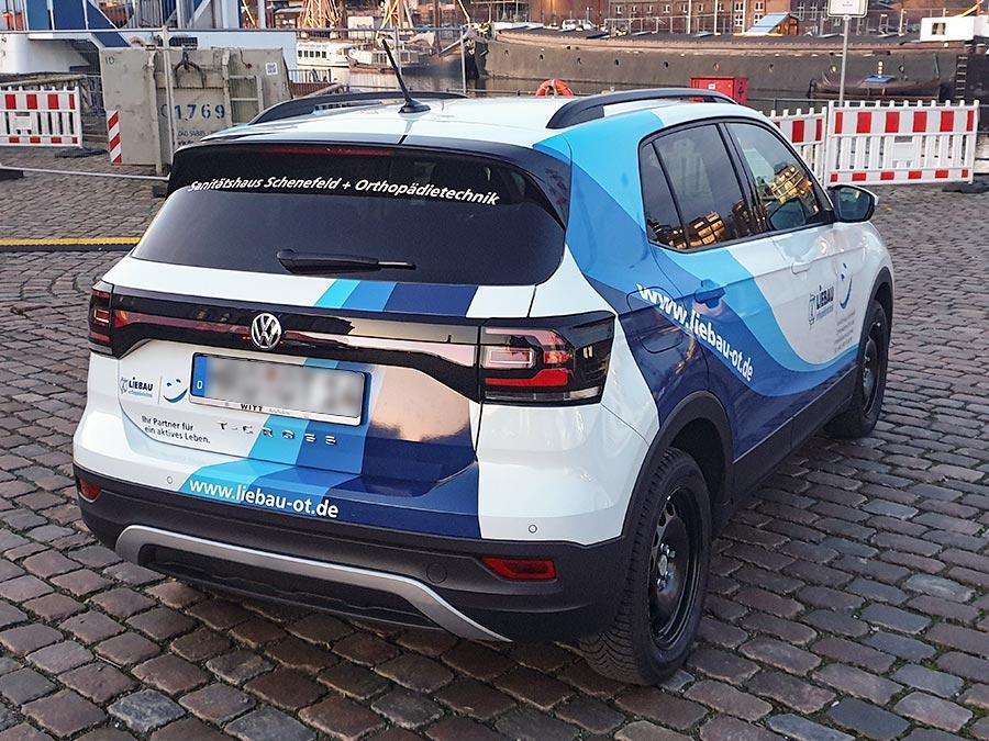 Fahrzeugbeschriftung VW T-Cross 2