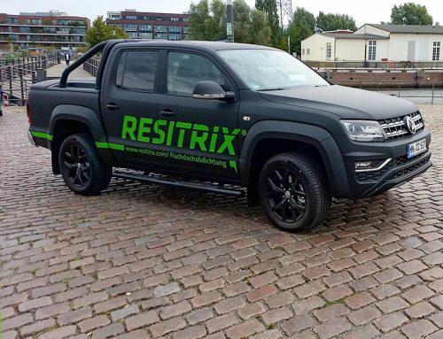 Fahrzeugbeschriftung Pickup Resitrix