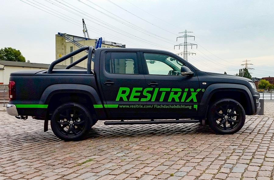 Fahrzeugbeschriftung Pickup Resitrix 1