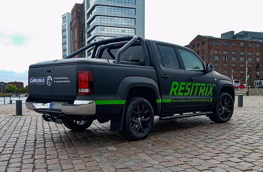 Fahrzeugbeschriftung Pickup Resitrix 2
