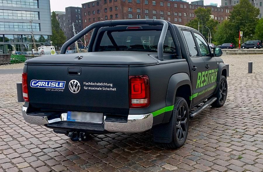 Fahrzeugbeschriftung Pickup Resitrix 3