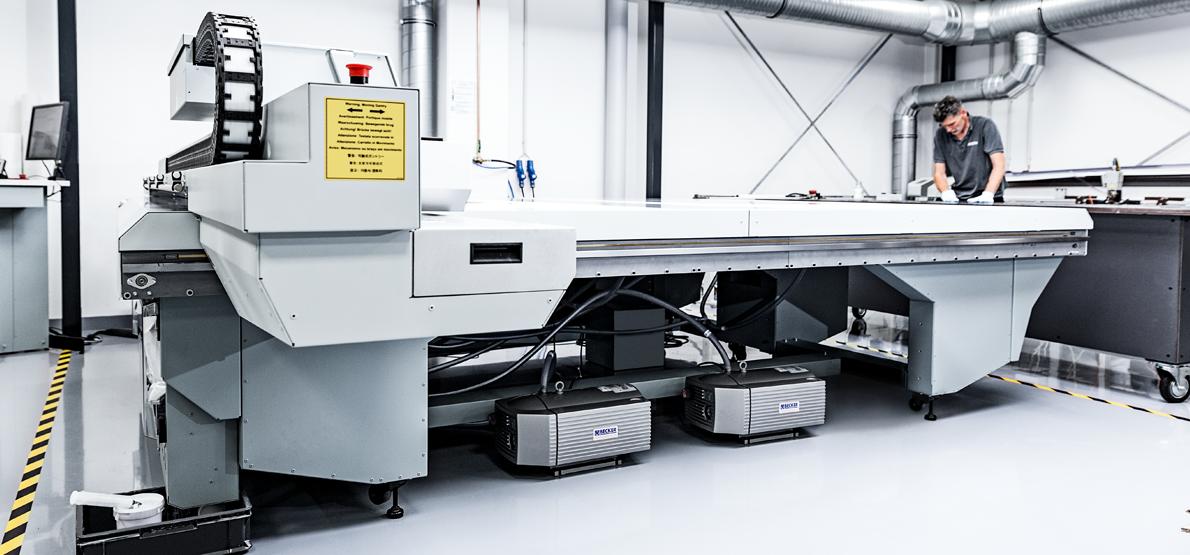 Großformat-Digitaldruck mit modernsten Maschinen